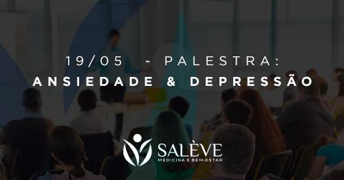 Palestra – Ansiedade e Depressão